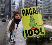 Pagan Christmas Tree