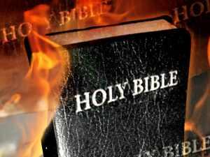 Burn the Bible