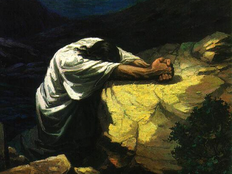 Image result for picture of Jesus christ praying in the garden