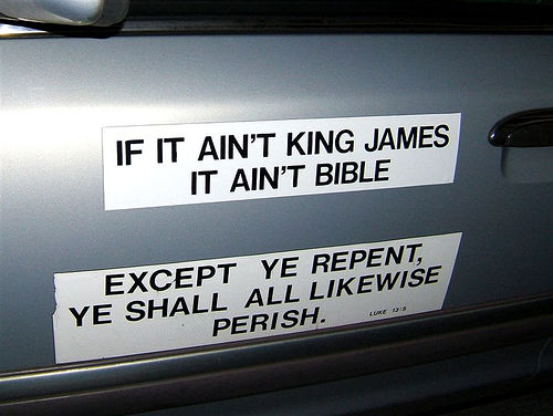 King James Version Only