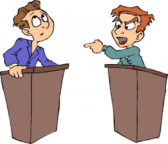 Debating Myself
