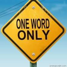 One Word Theology