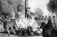 When I got Burned at the Stake