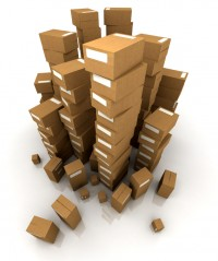 Cardboard Moving day