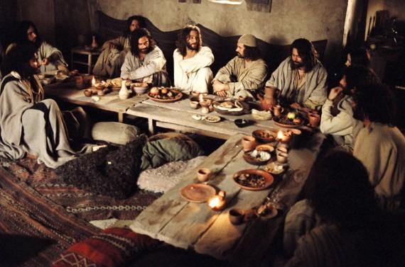 Jesus Praying Last Supper
