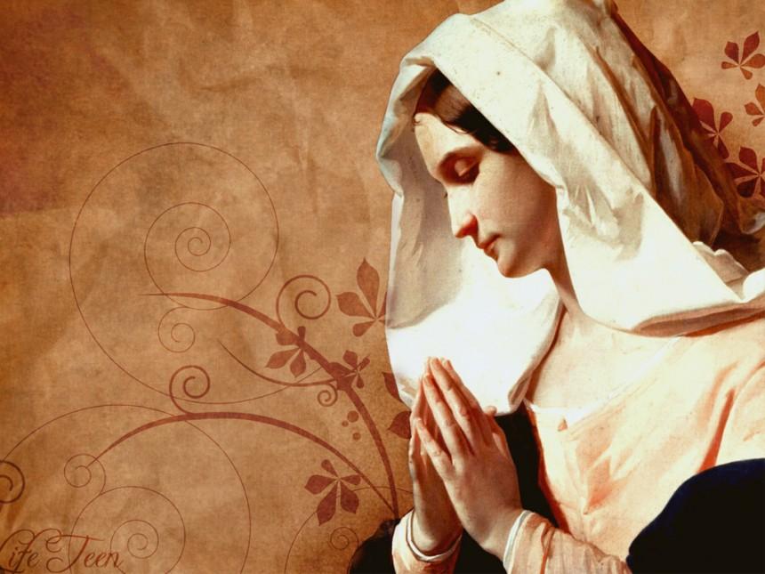 Đức Maria là mẫu gương cậy trông phó thác trong Năm Thánh Lòng Thương Xót