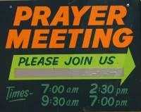 Practical Alternatives to Prayer Meetings