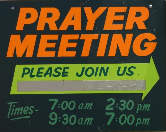 Cancel Prayer meetings