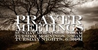 Did you pick up any of these bad habits from Prayer Meetings?