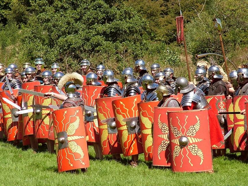 Spiritual Wafare - Roman Military