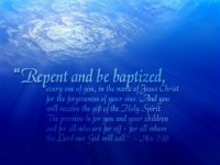 What is the Baptism of Repentance for the Forgiveness of Sins?
