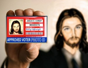 Approved Voter Jesus