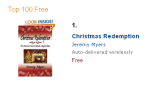 Christmas Redemption is not a Romance Novel