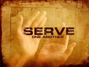 serving others