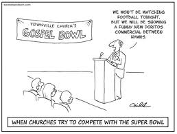 When Churches Try to Compete with the Super Bowl