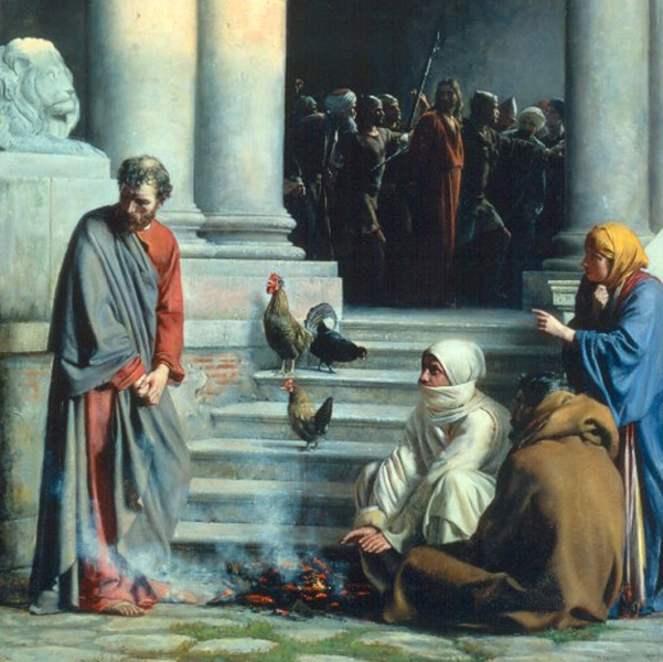 Six Denials of Jesus by Peter