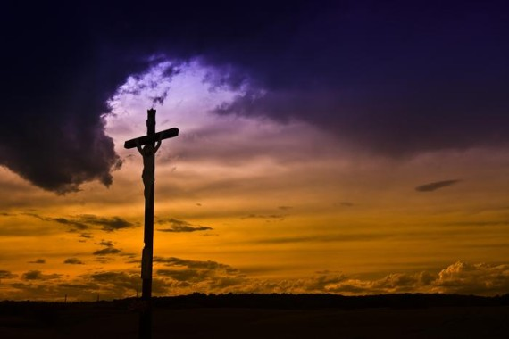 Jesus rules from the cross