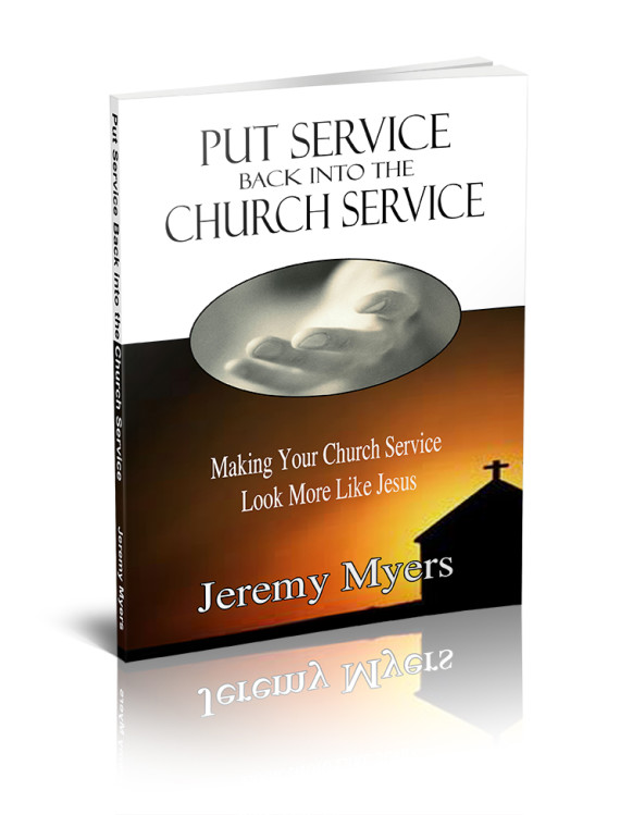 free ebook - Put Service Back into the Church Service