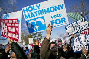 Gay Marriage sanctity of Marriage