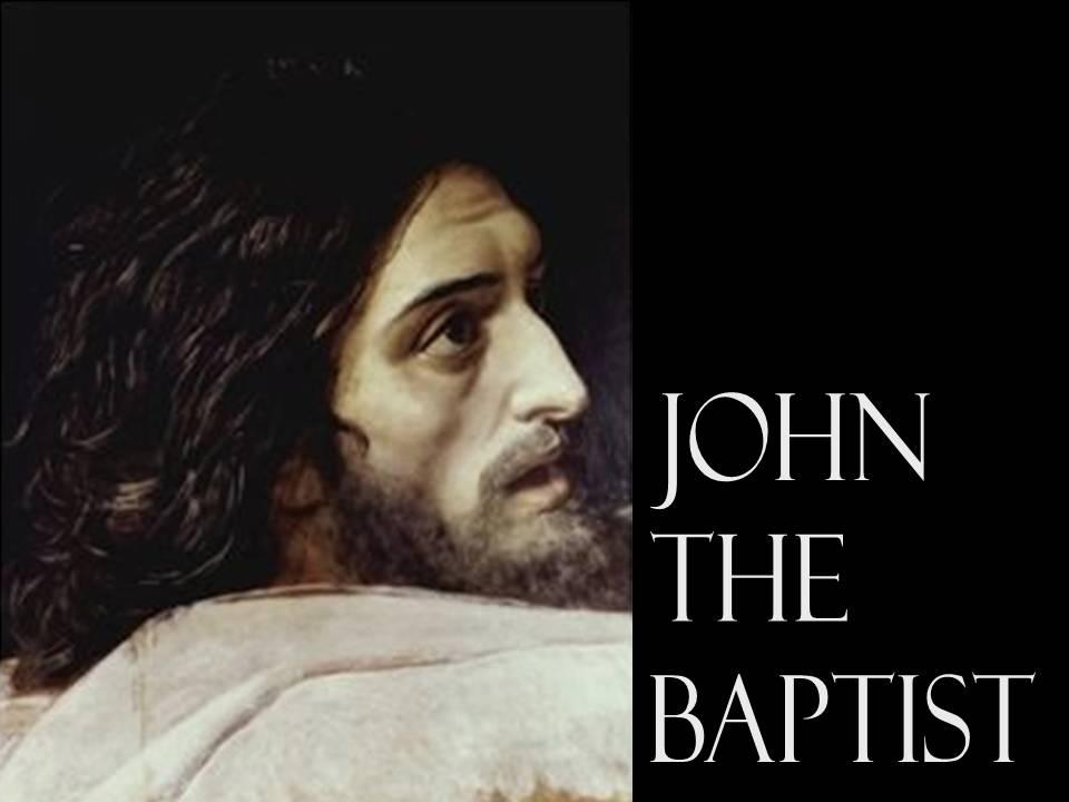 Luke 3 - John the Baptist