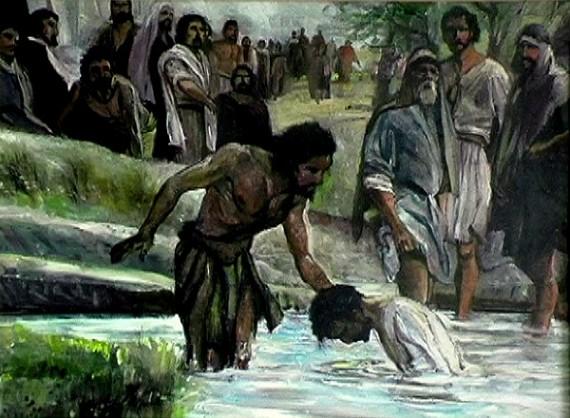 Luke 3 - why did Jesus get baptized