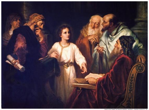 Did Jesus learn Scripture from Jewish teachers?