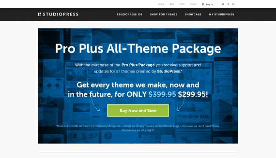 StudioPress Pro Plus Offer