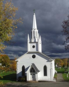 institution of church