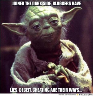 blogging deception