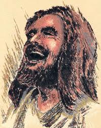 images of Jesus laughing