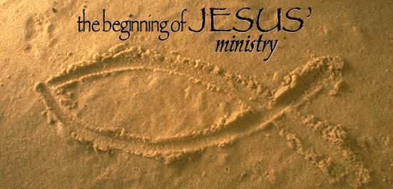 beginnings of Ministry Luke 4
