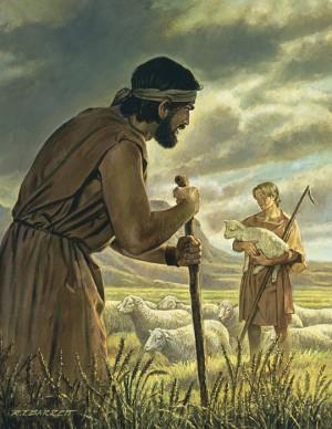 Cain's sacrifice