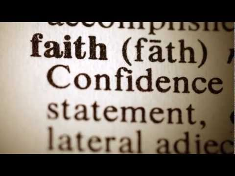 faith is confidence