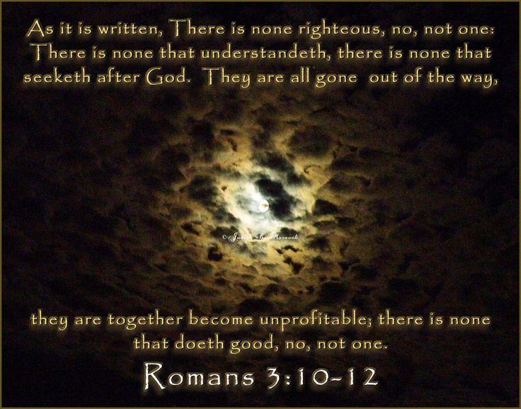 Is Paul teaching Calvinism in Romans 3:10-12?