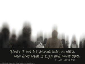 Does Ecclesiastes 7:20, 29 teach Total Depravity?