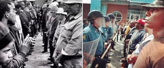 ferguson racial tension