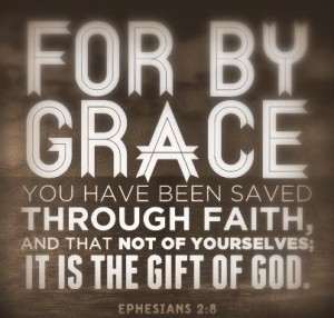 Ephesians 2:8-9 faith a gift of God