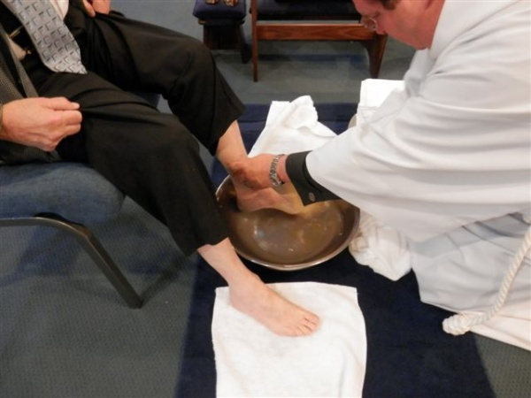 A True Foot Washing Service