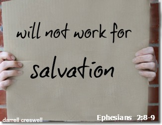 salvation is not by works