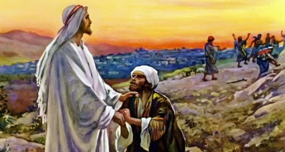 Image result for jesus heals 10 lepers