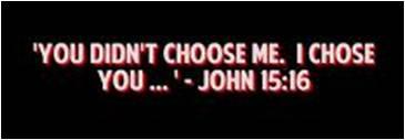 I chose you