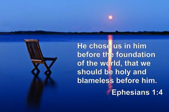predestination Ephesians 1