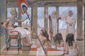 did god harden pharaohs heart