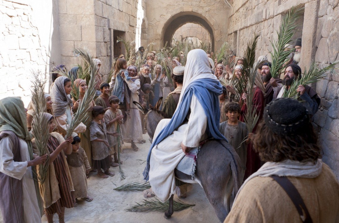 triumphal entry Luke 19