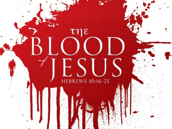 blood of Christ Hebrews 9-10