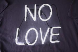 no love the greatest heresy