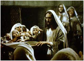 Jesus teaching Luke 17:34