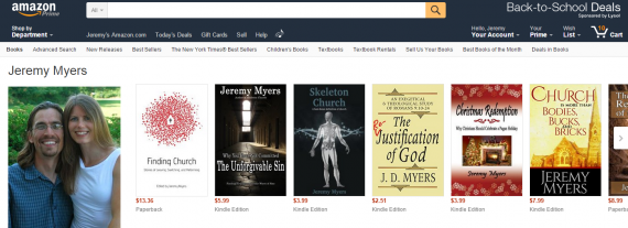 Amazon.com  Jeremy Myers  Books  Biography  Blog  Audiobooks  Kindle