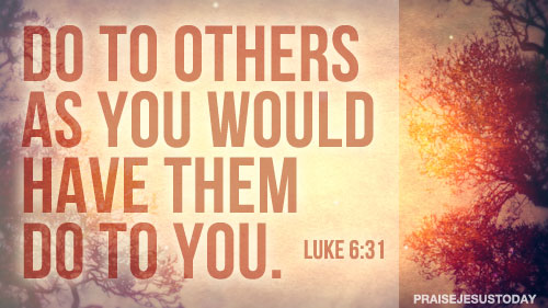 Luke 6 31