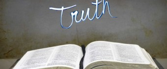 "The Question is not, ""Is the Bible True?"" but rather, ""How is the Bible True?"""